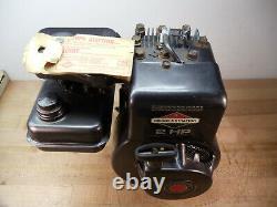 Vintage Briggs & Stratton 2 HP Motor Model 60102,43 years old, NOS