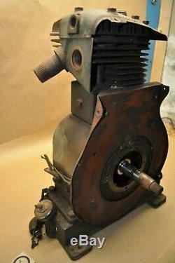 Vintage Briggs Stratton Model ZZ Hit & Miss Engine Motor Military