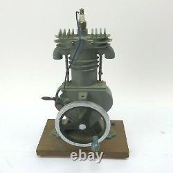 Vintage Engine Cutaway Antique Motor Teaching Tool Model Mancave Display