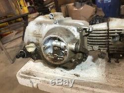 Vintage Honda CL70 CL 70 K1 Engine Motor 6/71 Model Runs Tested