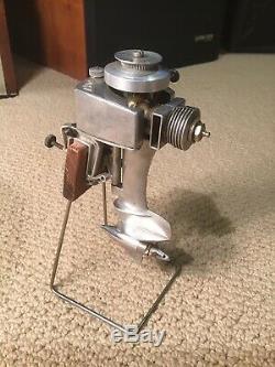 Vintage K&B Allyn Sea Fury. 049 Gas Outboard Model Toy Boat Motor Marine Engine