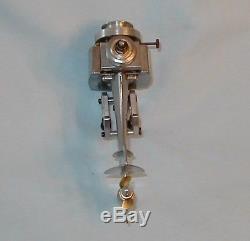 Vintage K&B Allyn Sea Fury. 049 Glow Engine Outboard Motor Model Boat Engine