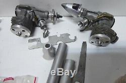 Vintage K B Cox 15 Model Aircraft Engines In Box Remote Control Motors