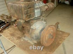 Vintage Rare Briggs Stratton Engine Motor Model 14 14R6 with Gear Reduction