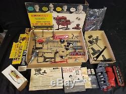 Vintage Revell (1961) Motorized Chrysler Slant Six Engine 1/4 Scale Model Kit