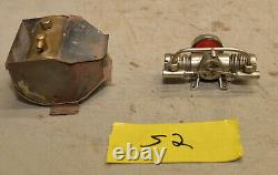 Vintage TMY twin cylindar steam engine Japan alchol minature model boat motor S2