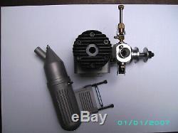 WEBRA. 61 10CCM BLACKHEAD Modellmotor RC, engine, motore, Flugzeug, moteur