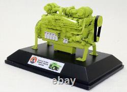 Zycon Models Brass Euclid R190 Mining Truck Engine Motor Cummins K2000E 1/18