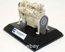 Zycon Models Brass Terex MT400 Mining Truck Engine Motor Cummins K2000E 1/18